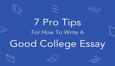 How to get good at essay writing